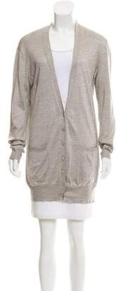 Stella McCartney Silk Knit Cardigan