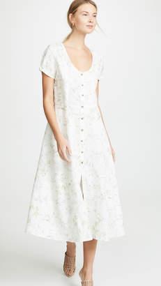 Three Dots Long Button Up Dress