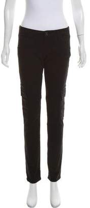 Hudson Mid-Rise Cargo Straight-Leg Jeans w/ Tags