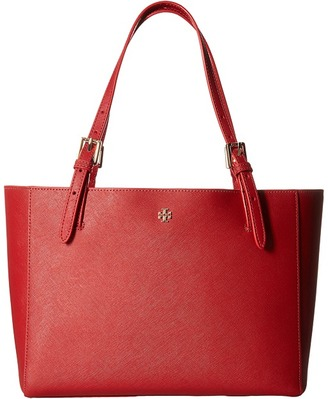 Tory Burch - York Small Buckle Tote Tote Handbags $245 thestylecure.com