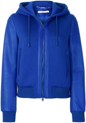 Givenchy neoprene zip hoodie