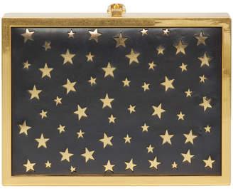 Alice + Olivia Darla Laser Cut Stars Box Cltch