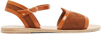 Ancient Greek Sandals Fei Crosta suede sandals