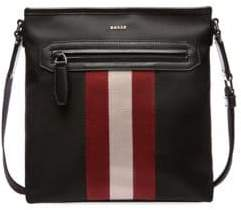 Bally Men's Currios Nylon Crossbody Bag - Black