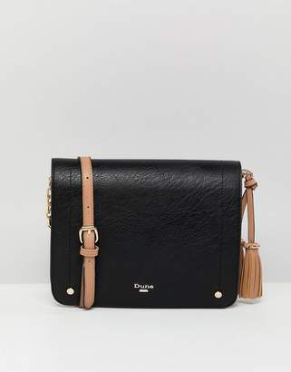 Dune Dashie Crossbody Bag With Contrast Handle