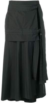 3.1 Phillip Lim side-slit flared skirt