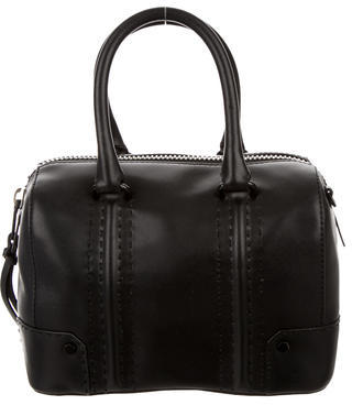 Rebecca Minkoff Leather Satchel Bag $145 thestylecure.com