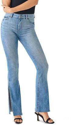 DL1961 Instasculpt Bridget Mid-Rise Boot Jeans in Hardy