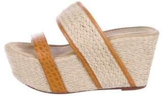 Elizabeth and James Espadrille Slide Sandals