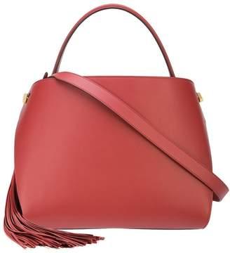 Oscar de la Renta Terracotta Leather Nolo Bag