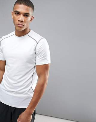 New Look SPORT Short Sleeve T-Shirt In White