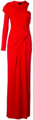 Alexander Wang draped one shoulder gown $995 thestylecure.com