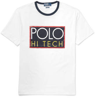 Polo Ralph Lauren Logo-Appliquéd Cotton-Jersey T-Shirt