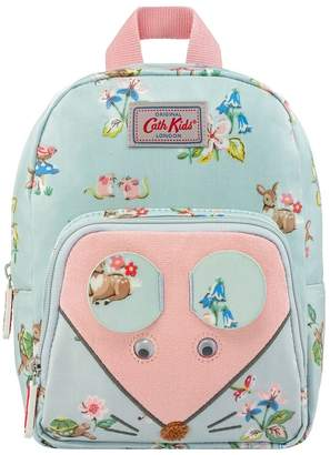 Cath Kidston Girls Kids Novelty Mouse Mini Rucksack - Green