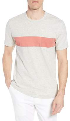 Faherty Chest Stripe Pocket T-Shirt