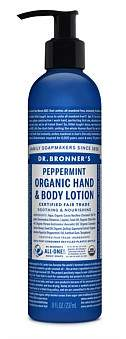 Dr. Bronner's Hand & Body Lotion 236Ml - Peppermint