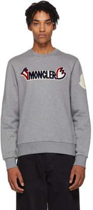 Moncler Genius 2 1952 Grey Logo Sweatshirt