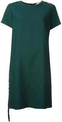 No.21 stone embellished dress