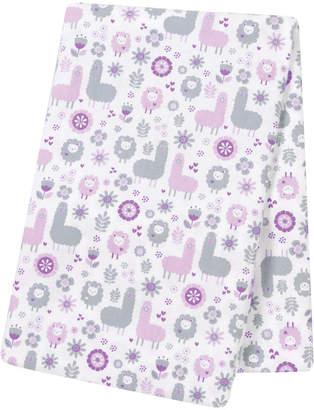 Trend Lab TREND LAB, LLC Llama Friends Flannel Swaddle Blanket