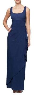 Alex Evenings Two-Piece Empire Evening Gown and Bolero