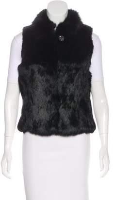 Sheri Bodell Fur Shawl Collar Vest