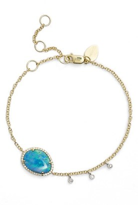 Women's Meirat Diamond & Semiprecious Stone Bracelet $850 thestylecure.com