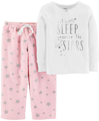 Carter's 2-Pc. Pajama Set - Toddler Girls 2-pc. Pant Pajama Set Girls