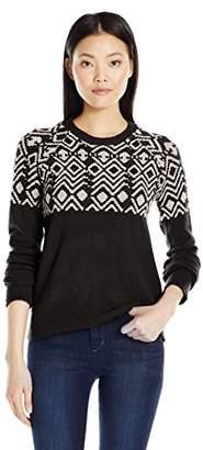 Olive + Oak Olive & Oak Women's Fairisle Pullover Sweater