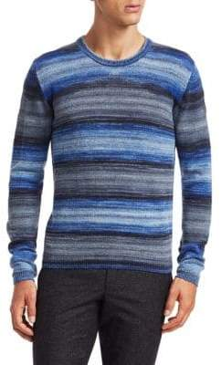 Saks Fifth Avenue MODERN Wool Space-Dye Sweater