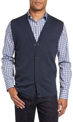 Nordstrom Merino Button Front Sweater Vest