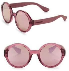 Havaianas Floripa 51MM Round Sunglasses