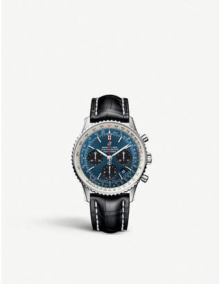 Breitling AB012012 Navitimer 01 chronograph stainless steel watch