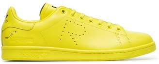 Adidas By Raf Simons yellow X raf simons stan smith leather sneakers