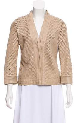 Alberta Ferretti Quilted Leather Jacket