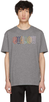 McQ Grey Rainbow Swallow T-Shirt