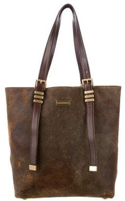 Michael Kors Darrington Large N/S Distressed Leather Tote