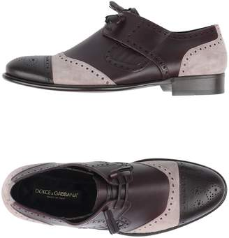 Dolce & Gabbana Lace-up shoes - Item 11158057RE