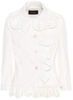 Simone Rocha Stretch cotton jacket