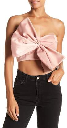 Do & Be Do + Be Bow Twist Crop Top
