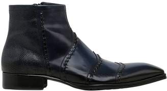 Jo Ghost Smooth Leather Ankle Boots