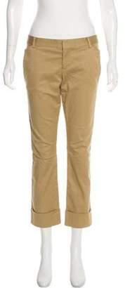 DSQUARED2 Low-Rise Straight-Leg Pants