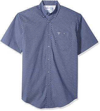 Wrangler Men's 20X Competition Short Sleeve Button Front Shirt