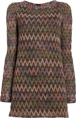 Missoni Long Sleeve Shirt Dress