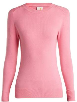 Joostricot - Peachskin Cotton Blend Sweater - Womens - Light Pink