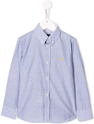 Harmont & Blaine Junior dotted shirt