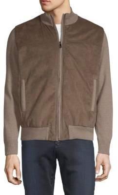 Paul & Shark Wool Blend Zip Sweater