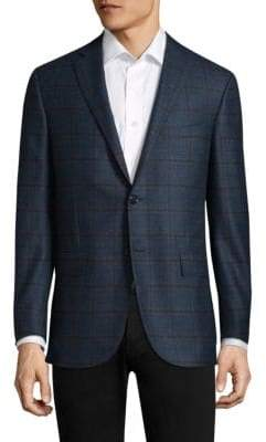 Corneliani Patterned Wool Sportcoat