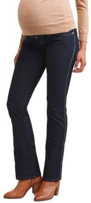 Oh! Mamma Maternity Full Panel Bootcut Jeans - Available in Plus Sizes