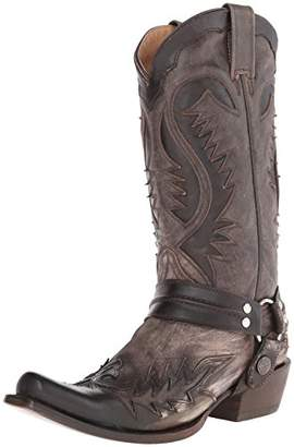 Stetson Men's Snip Toe Harness W/Bleach Boot