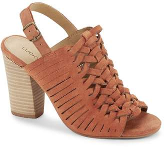 Lucky Brand Women's Yvette Suede Sandals